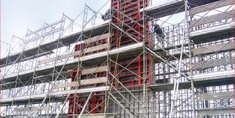地組み・吊り込み・建て込み