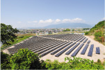 揖斐川町にメガソーラーを設置し自社発電事業を開始