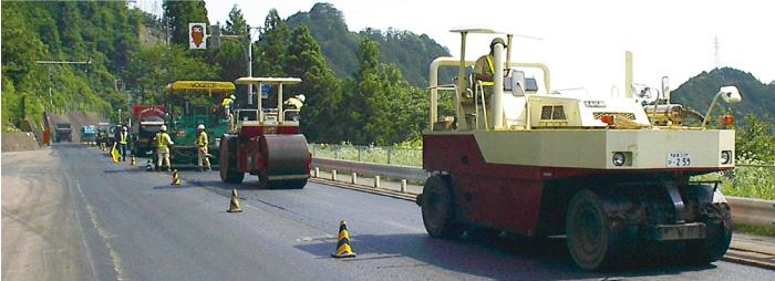 舗装のプロによる自社施工で安心!